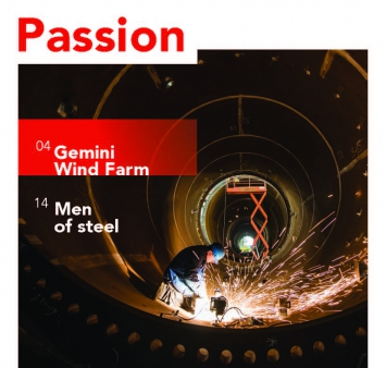 Read the first edition of our new magazine 'Passion'!