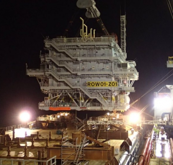 Second Race Bank substation installed offshore