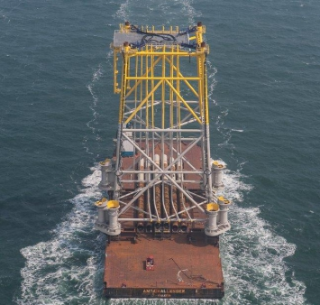 Hohe See jacket heads to German North Sea