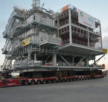 Norther Offshore High Voltage Station is setting sail to Belgium's largest offshore wind farm