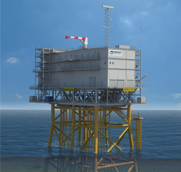 Iemants en ENGIE Fabricom winnen Hollandse Kust Noord offshore transformatorstation contract