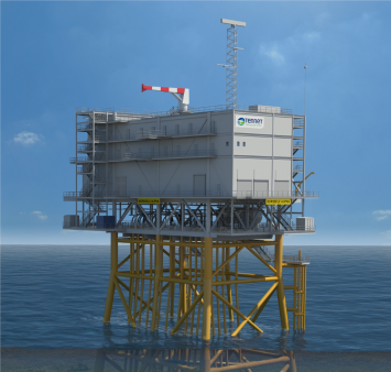 Smulders and ENGIE Solutions kick off topside fabrication of TenneT project Hollandse Kust (noord)