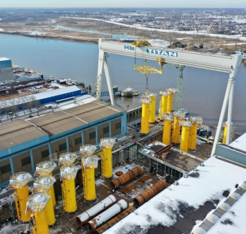 Smulders ships off first Saint-Nazaire TPs