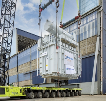 TenneT transformers successfully lifted into topside for Hollandse Kust (noord) substation