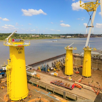 Yunlin Offshore Wind Farm | Transition Pieces